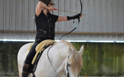 Trudi our Horseback Archer