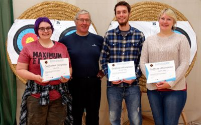 Congratulations – Archery Beginners Course