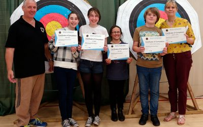 Archery Beginners Course Success