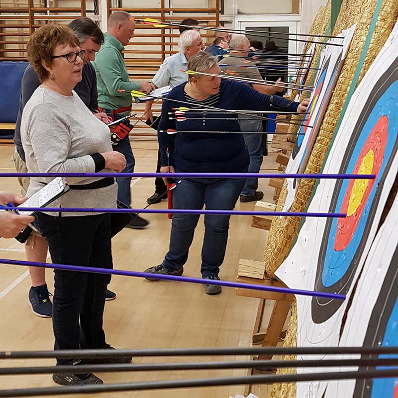 Keeping Score - Archery Round - Bowmen of Danesfield