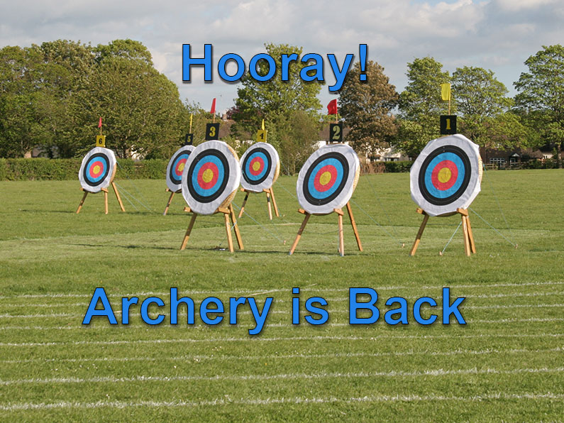 Hooray! Archery is Back