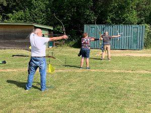 Covid Archery Outdoors Bowmen of Danesfield