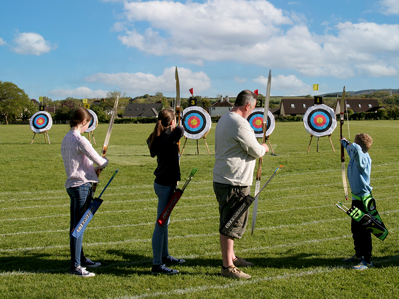 Archery Beginners Course Bowmen of Danesfield West Somerset Archery