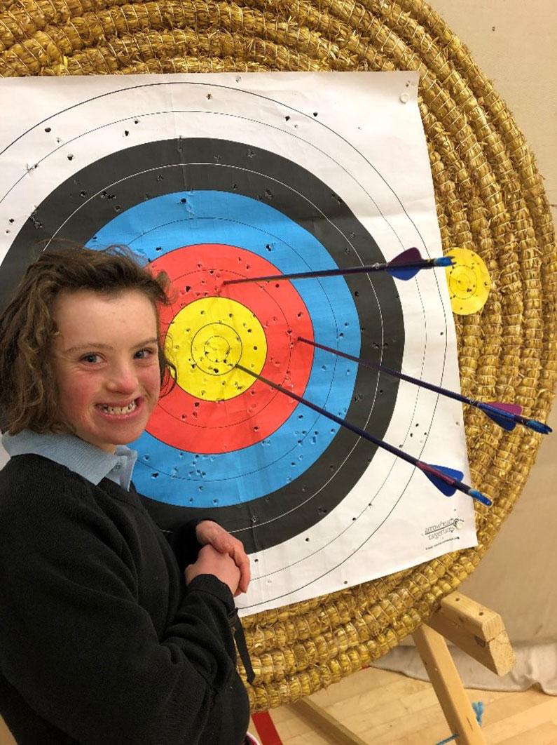 Pippa Gee Archer Bowmen of Danesfield